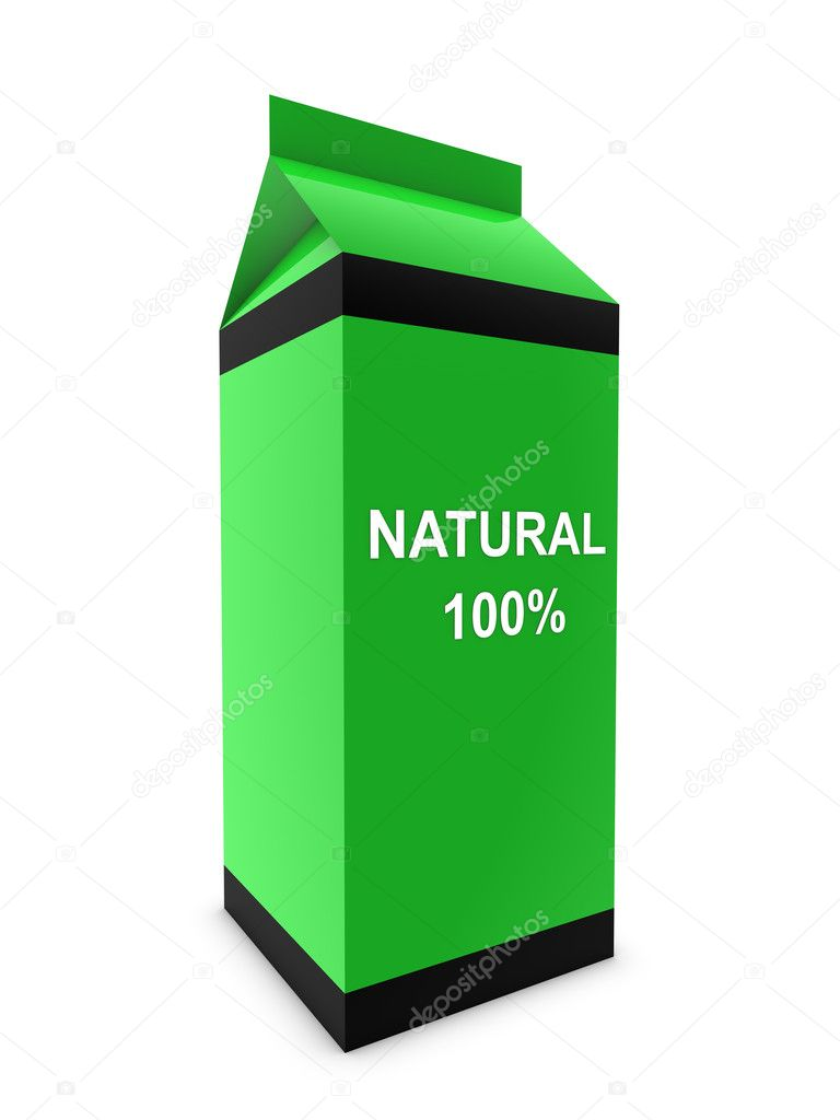 Natural milk — Stock Photo #11510808