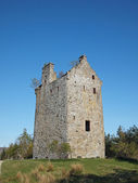 Invermark Schloss bleibt, Angus, Schottland. — Stockfoto