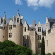Montreuil Bellay castle, France. — Stock Photo