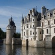 The Chateau de Chenonceau. Loire Valley. France - Stock Photo