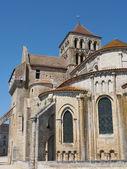 Fortified Saint Jouin abbey church, France — Foto de Stock