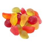 Fruit jelly beans — Stock Photo