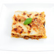 Portion of lasagna — Stock Photo #11338918