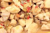 Chicken in sauce — Stock Photo