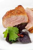 Spicy roast pork — Stock Photo