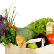 Stock Photo: Healthy Eating in Shopping Bag