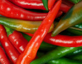 Chili peppers background — Foto Stock