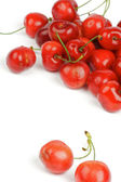 Arrangement of Fresh Ripe Cherry — Stock Photo