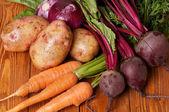 Vegetales orgánicos crudos — Foto de Stock