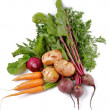 Arrangement of Raw Organic Vegetables - Lizenzfreies Foto