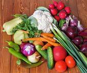 新鮮な生野菜 — ストック写真