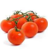 Tomatoes on twigs — Stock Photo