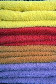 Asciugamani di colori — Foto Stock