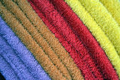 Colors towels — Stock Photo