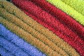 Farben-handtücher — Stockfoto
