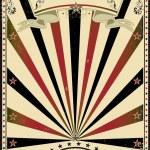 Circus vintage sunbeams — Stock Vector #10747605