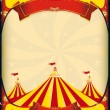 Royalty-Free Stock Vector Image: Circus poster big top