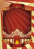Nice circus big top — Stock Vector