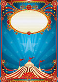 Blue circus background — Stock Vector