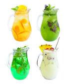 Lemonade set isolated — Stock Photo
