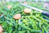 冷冻的蔬菜 — 图库照片
