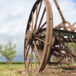 An Old Antique Farm Implement - Stock Photo