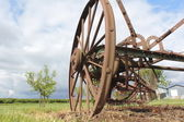 An Old Antique Farm Implement — Stock Photo