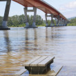 High Flood Water — Stock Photo