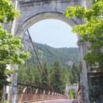 Historic Alexandra Bridge in British Columbia — Stock Photo #11173344