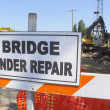 Stock Photo: Bridge Under Repair