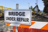 Bridge Under Repair — Stock Photo