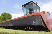 Low Angle of Swather — Stock Photo