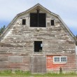 Old Abandoned Barn - Stock Photo