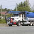 Sewage Cleaning Vehicle - Stock Photo