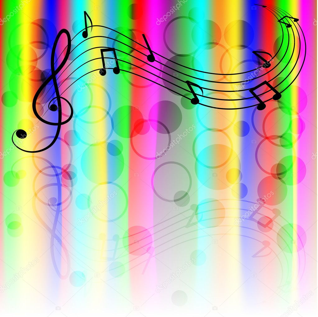 Musical notes  — Stock Vector #10775654
