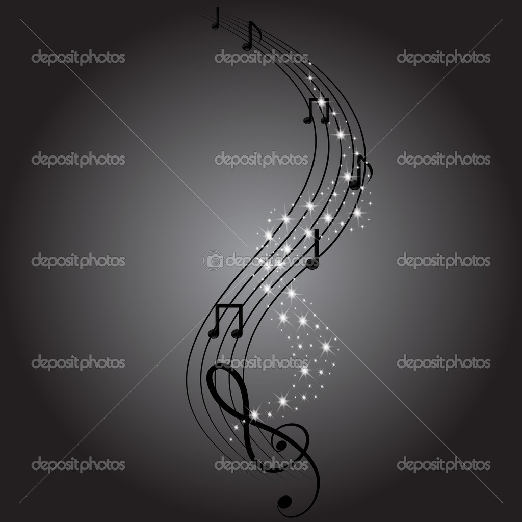 Musical notes  — Stock Vector #10790834