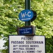 Street Sign in Paris — Stock Photo #11817621