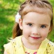 Cute little girl on the meadow — Stock Photo #10760742
