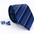 Man cuff links and tie isolated — Stock Photo #10886729