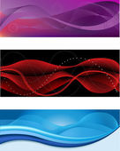 Abstract headers — Stock Vector