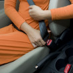 Fasten Seat Belt — Stock Photo