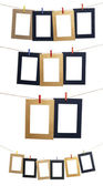 Set Of Hanging Photo Frame — Stock Photo