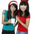 Drinking Coffee Together — Stock Photo #12099233