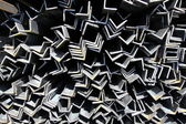 Metal profiles angle — Stock Photo