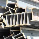 Metal profiles beam — Stock Photo