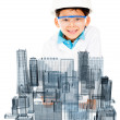 Young male architect — Stock Photo #10734050