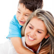 Affectionate mother and son — Stock Photo #10734104