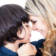 Mother and son portrait — Stock Photo #10734741