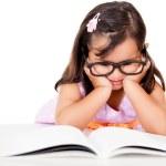Girl reading a book — Stock Photo #10753876