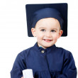 Stock Photo: Little boy graduating